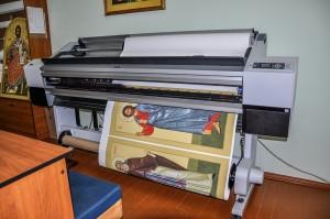 Широкоформатная печать на холсте и бумаге