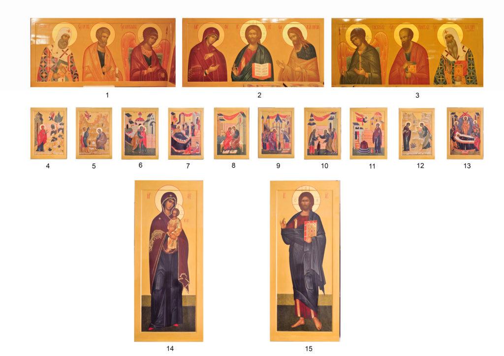 иконы для иконостаса